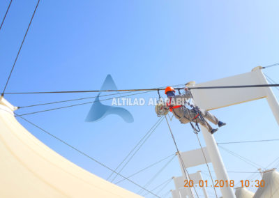 Preventive and Corrective Maintenance of Tent Roof Structure in King Abdul Aziz International Airport at Hajj Terminal (KAIA-HTC)