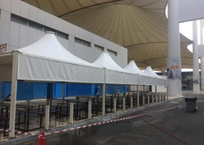 Rest Area in King Abdul Aziz International Airport at Hajj Terminal