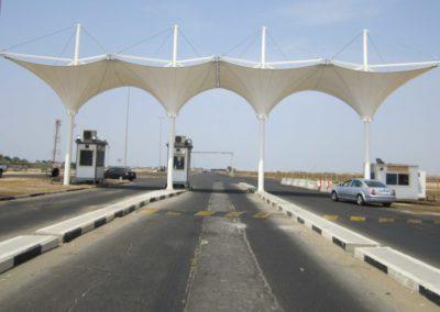 Gate 14 at King Abdulaziz International Airport in Hajj Terminal (KAIA-HTC)