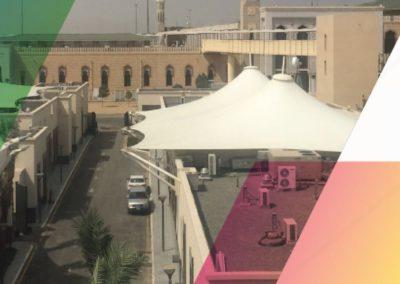 Canopies in Arafat